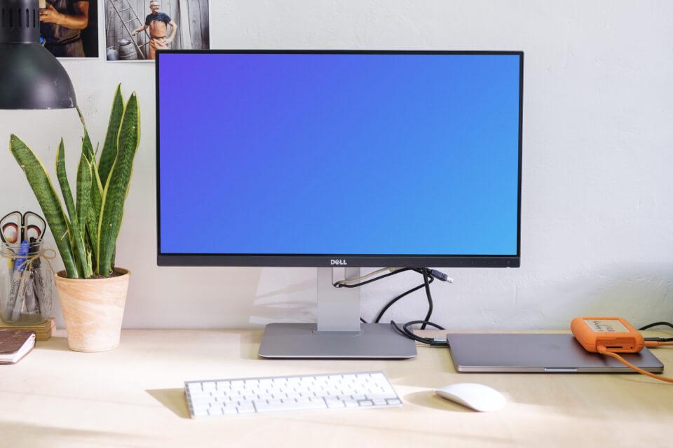 Computer mockup