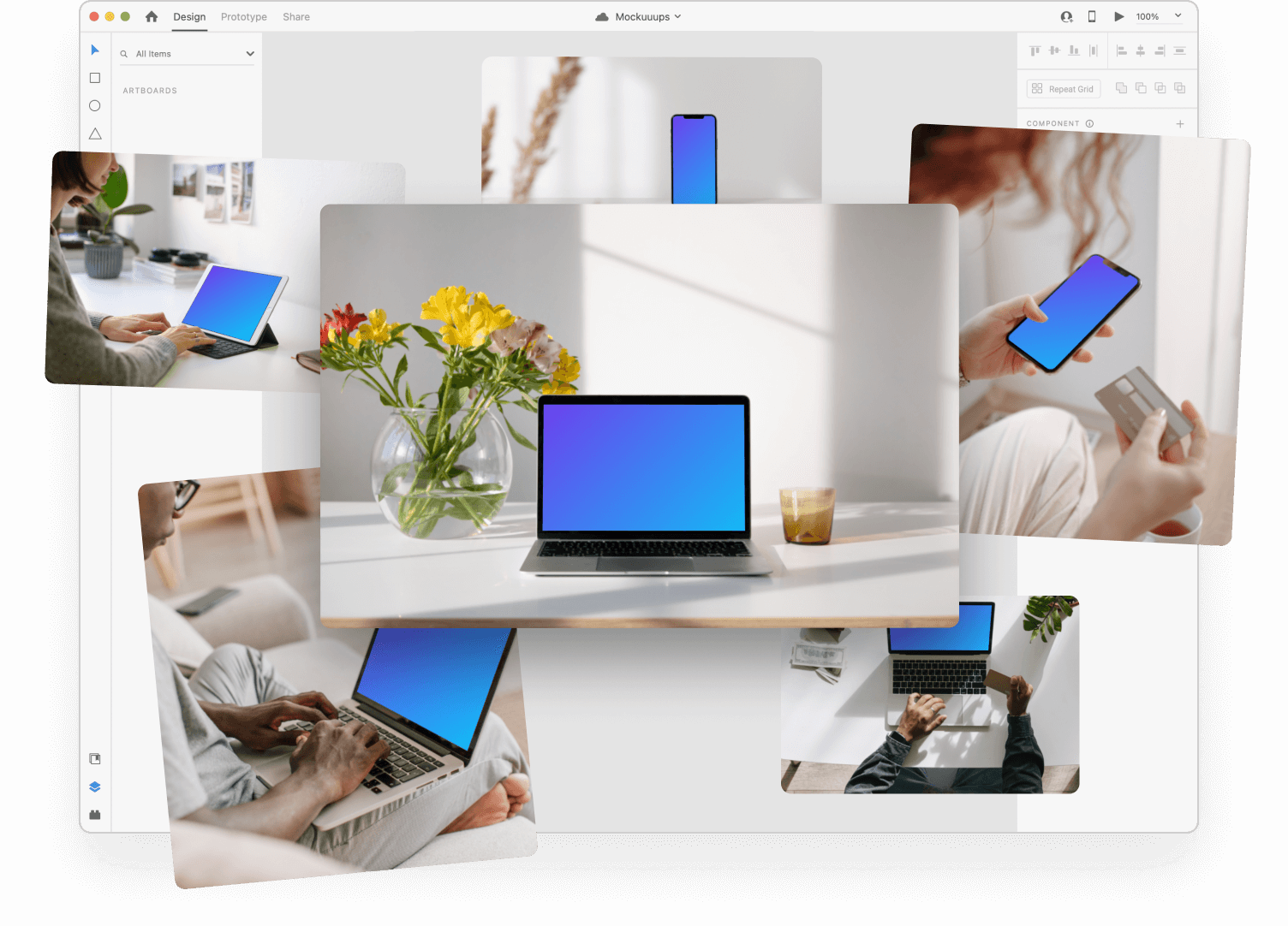 Mockup Plugin for Adobe XD