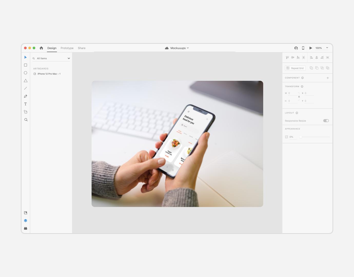Mockup Generator for Adobe XD